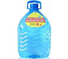 Вода дистиллированная Вита (6л)
